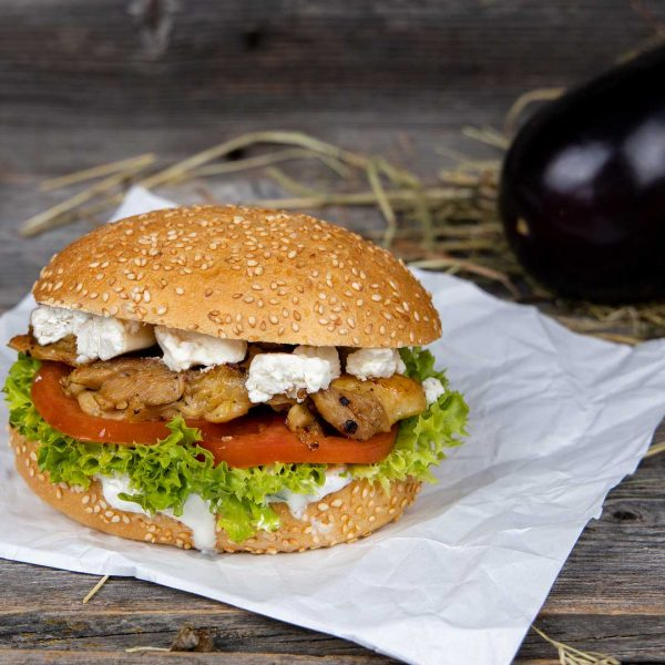 Greek Style Burger Chickis