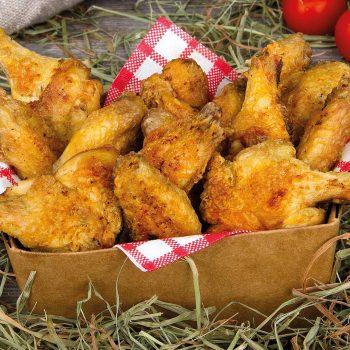 Chickis Chicken Wings gegrillt