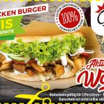 Pulled-Chicken-Burger Aktion
