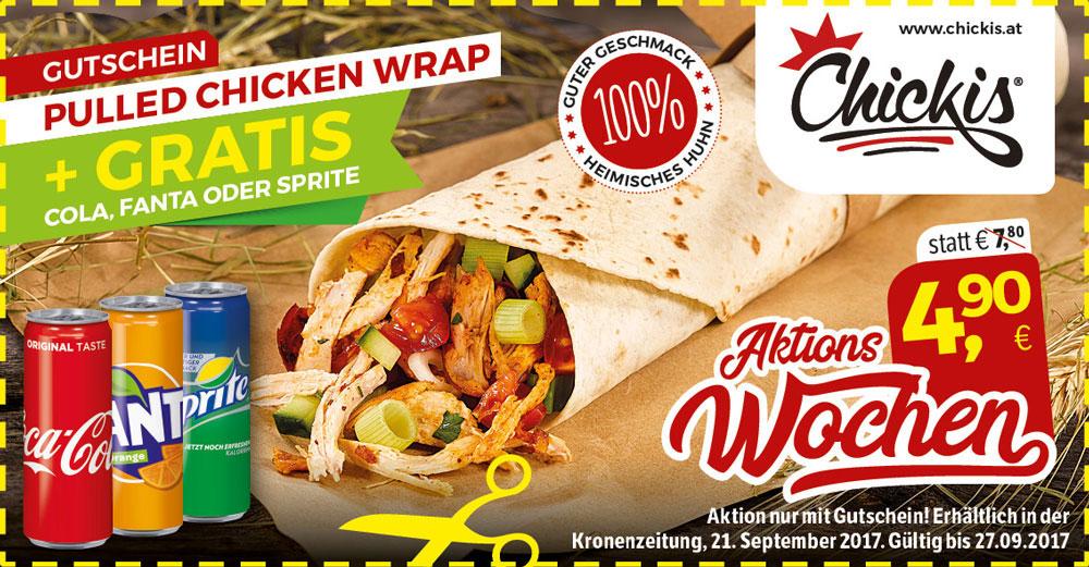 gutschein pulle chicken wrap