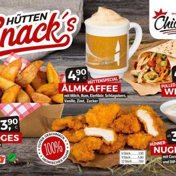 Chickis Hütten Snacks