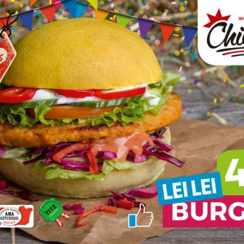Chickis Lei Lei Burger