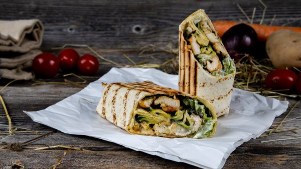 Chicken Wrap Chickis